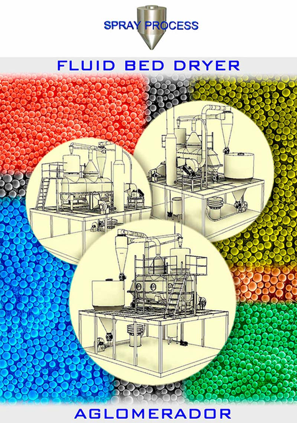 Secador de leito fluidizado - Spray Process 1d1833cb81d1
