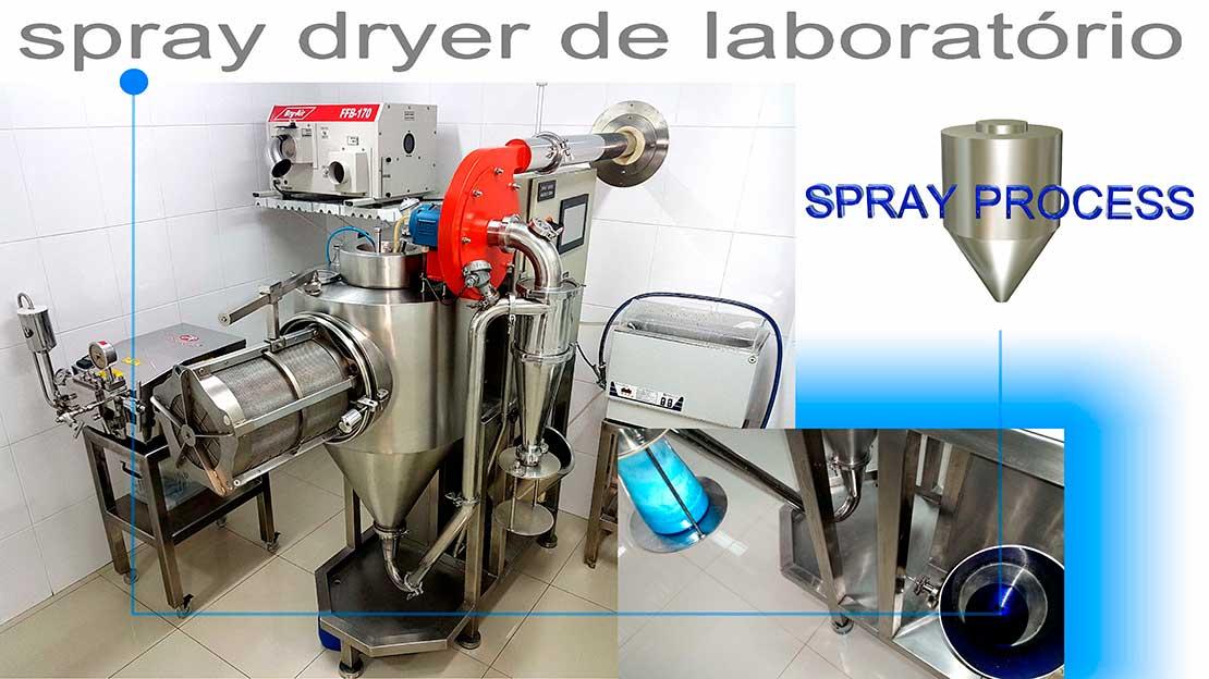 Spray dryer laboratório