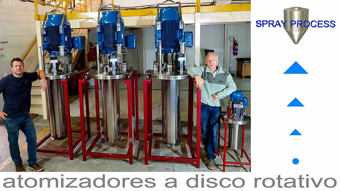 SPRAY DRYER ATOMIZADOR