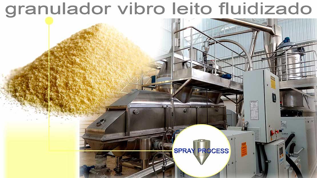 Granulador de leito fluidizado