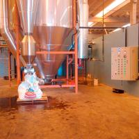 Spray dryer leite em pó